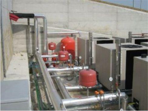 Centrale di Climatizzazione a Gas Bonea
