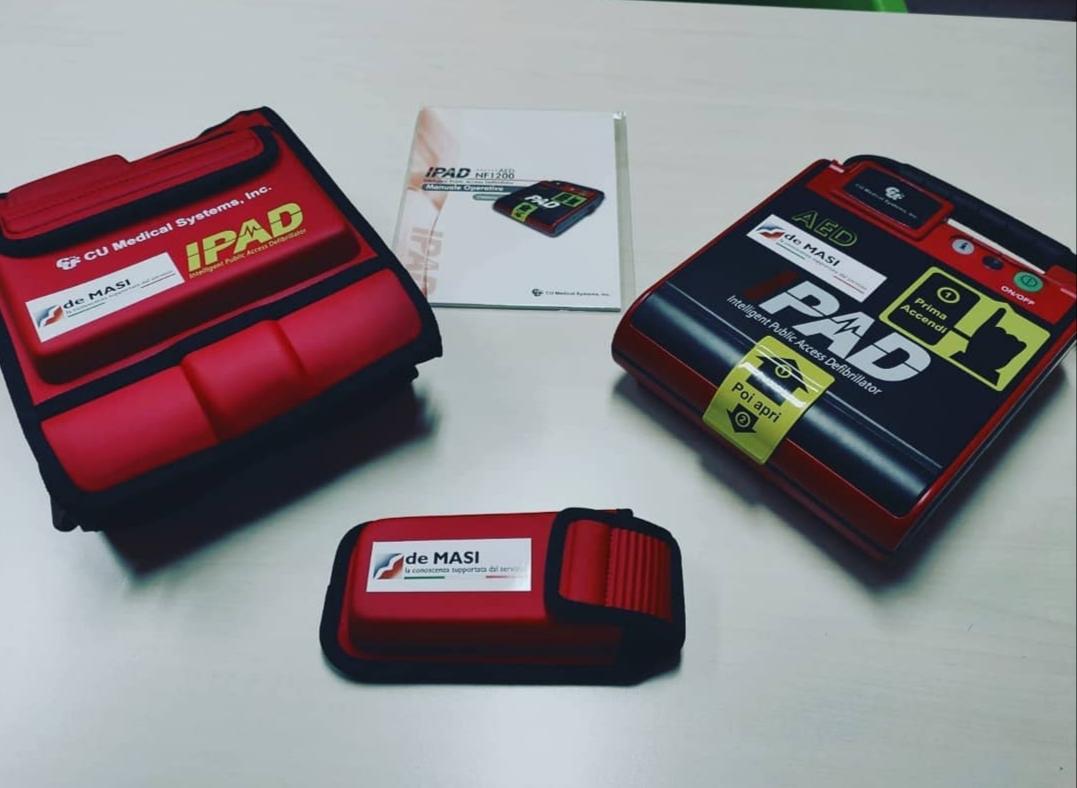 Donazione Defibrillatore Automatico
